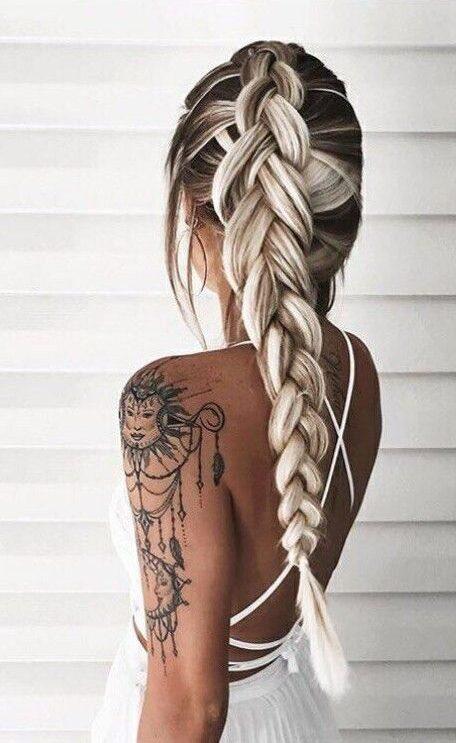 tresse coiffure tendance